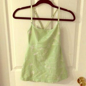 Green lulu tank